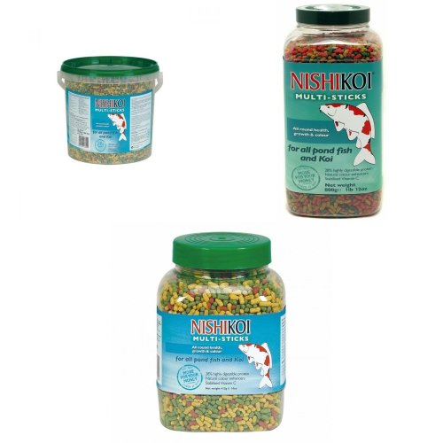 Nishikoi Multisticks Pond Fish Food