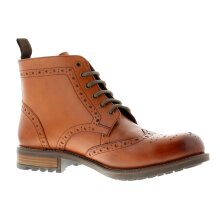 Business Class Lucca leather Mens Smart Boots Tan