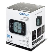 Omron Wrist Blood Pressure Monitor With Bluetooth Connectivity HEM-6232T-ERS7