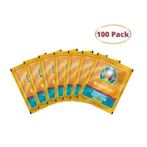 UEFA Euro 2020 Tournament Edition Sticker Collection x 100