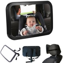 New Large Wide View Car Baby Child Inside Mirror View Rear Ward Back Safety
