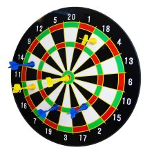 """16"""" Magnetic Dart Board with 6 Darts"""