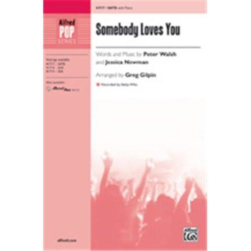 Alfred 00-41720 SOMEBODY LOVES YOU-STRX CD