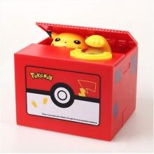 Electronic Pokemon-style Pikachu Money Box With Music