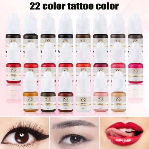 Semi Permanent Makeup Eyebrow Ink Lips Eye Line Tattoo Color Microblading Pigment On Onbuy