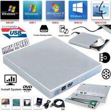 USB To SATA Laptop CD DVD Combo RW Rom Drive External Caddy Enclosure