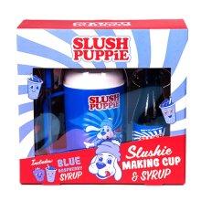 Slush Puppie Slushie Making Cup and Syrup Gift Set - Raspberry