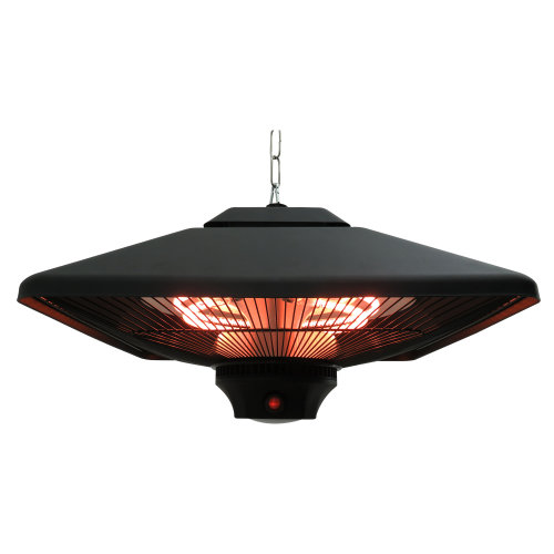 Outsunny 2000W Hanging Halogen Heater