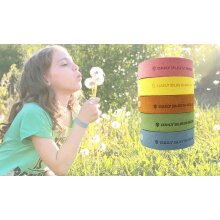 Mosquito Repellent Bracelet Non-Toxic Adjustable Wristbands for Kids & Adult