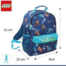 Lego Movie 2 Blue Let's Build Together Character Backpack