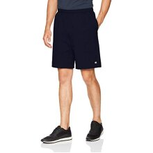 champion Mens Jersey Short With Pockets, Navy, X-Large