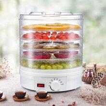 350W Electric Food Dehydrator 5Tray Fruit Meat Beef Veg Dryer