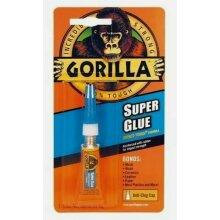 GORILLA SUPER GLUE 3g ANTI CLOG HIGH STRENGTH REINFORCED RUBBER STRENGTH