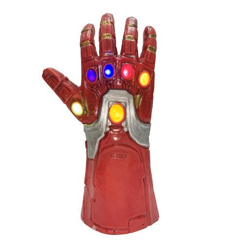 (Kids Iron Man Infinity Gauntlet Glove Led Light) Kids Adult Iron Man Glove  Infinity Gauntlet LED
