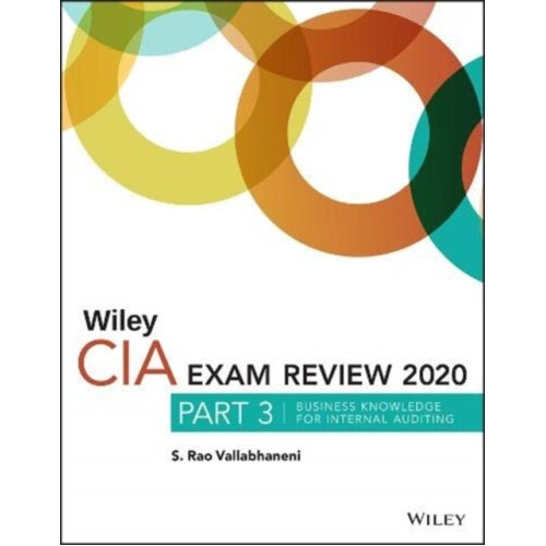 Wiley CIA Exam Review 2020 Part 3 by Vallabhaneni & S. Rao