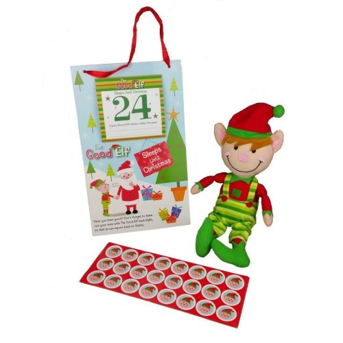 The Good Elf Christmas Countdown & Good Behaviour Reward Gift Set