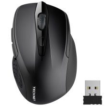 TeckNet Pro 2.4G Ergonomic Wireless Mobile Optical Mouse with USB Nano Receiver
