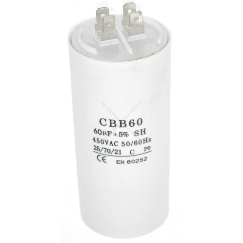 Universal 60UF Microfarad Appliance Motor Start Run Capacitor