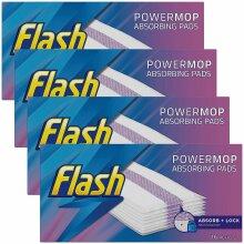Flash Powermop Absorbing Multi-Surface Pads Refills, 16 Refills - 4 Pack (Total 64 Refills)