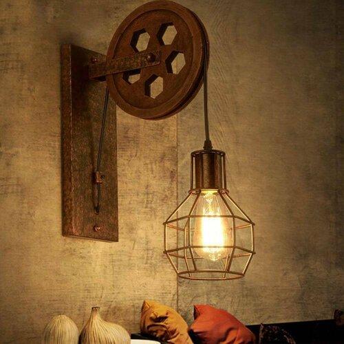 Loft Industrial Retro Wall Lamp