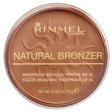 Rimmel 34788724022 Natural Bronzer, Sun Bronze