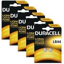 10 x Duracell LR44 1.5V Alkaline Button cell Batteries LR44 A76 AG13 357 SR44