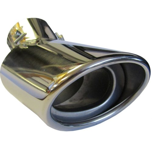 Chrome 178mm Exhaust Tip | Oval Exhaust Tip