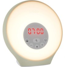 Lumie Sunrise Alarm - Sunrise Wake-up Alarm, Sunset Sleep Feature, Sounds & Mood Lighting