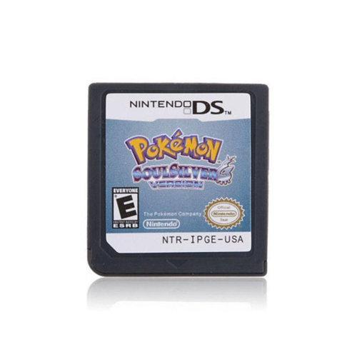 Pokemon: SoulSilver/HeartGold Copy Reproduction Game Cartridges