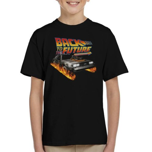 DeLorean Count Down Back To The Future Kid's T-Shirt