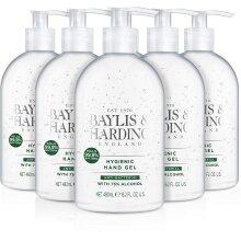Luxury Baylis & Harding Anti-bacterial Unfragranced Hand Sanitiser Gel 480ml Big Bottle