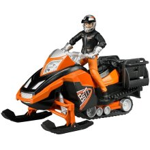 Bruder 63101 Snowmobile with Driver