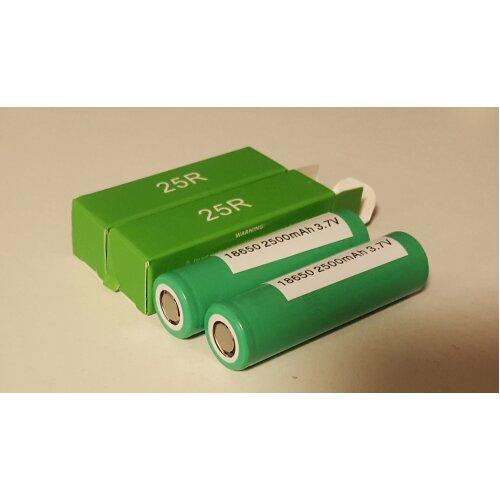Samsung 25R 18650 Batteries (2pk)