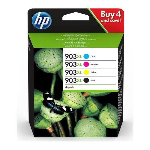 HP 903XL Cyan, Magenta, Yellow & Black Ink Cartridges, Cyan