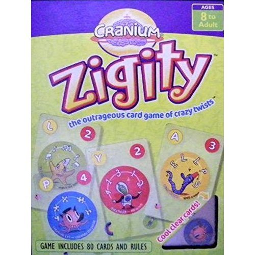 ZIGITY The Outrageous Card Game of Crazy Twists 2005