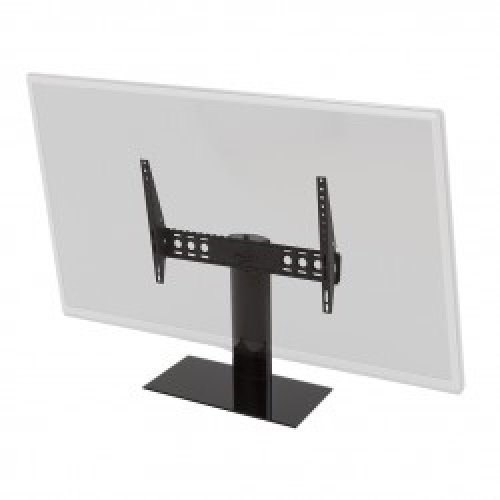 """King Tilt & Swivel Table Top Replacement Pedestal TV Base Stand for up to 65"""" inch"""