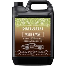 Dirtbusters Ph Neutral Coconut Wash and wax 5l