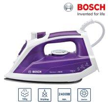 Bosch TDA1060GB Sensixx Steam Iron 2400W 100g Steam Shot Drip Stop Anti Calc - Refurbished