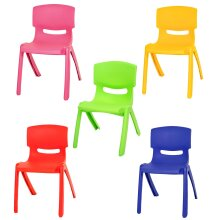 Stackable Kids Children Plastic Chair Up To 60kg