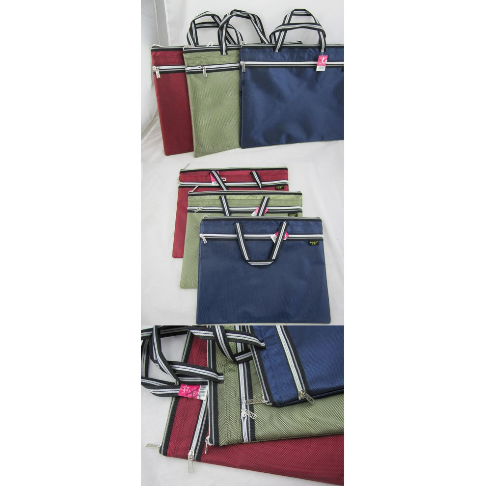 30.5 x 36.8cm RED Oxford Leisure Conference Document Bag Laptop Bag Briefcase