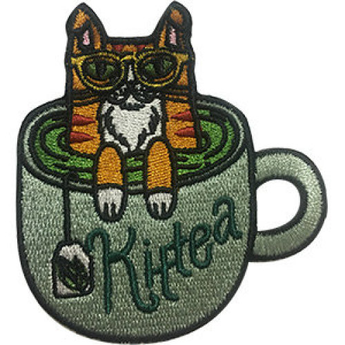 Patch - Cats - Kit- Tea Icon-On p-dsx-4700