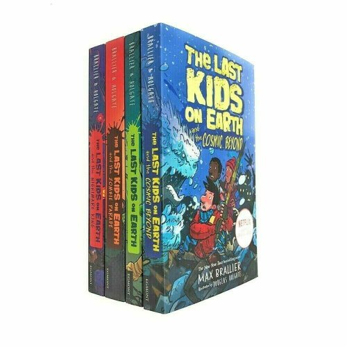 The Last Kids on Earth Collection 4 Books Set By Max Brallier