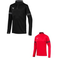 Puma ftblPLAY 1/4 Zip Football Top Activewear Running Jogging Shirt Jersey (UK2020)