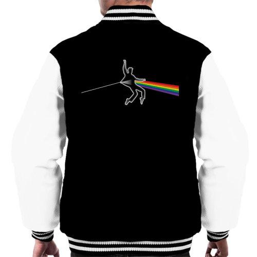 Dark Side OF The Elvis Presley Moon Pink Floyd Men's Varsity Jacket
