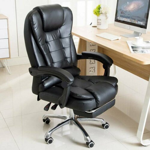 Luxury 360° Massage Office Chair Gaming Swivel Recline Chair Home
