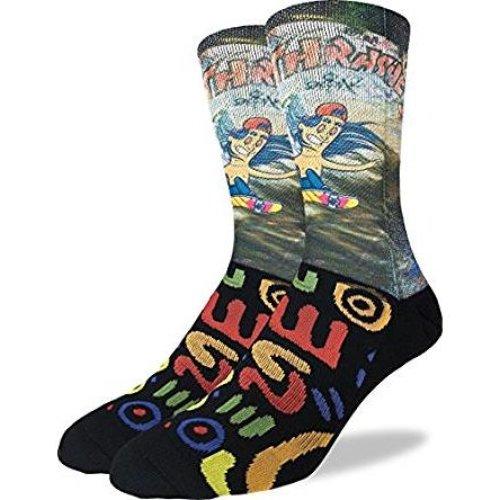 Socks - Good Luck Sock - Men's Active Fit - Skateboarder (8-13) 4069