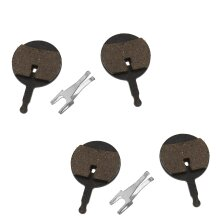 2 Pairs 24mm Resin Bike Disc Brake Pads For Cycling Avid Bicycle Replacement