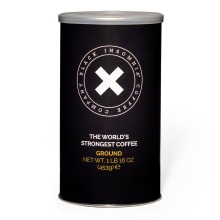 Black Insomnia Ground Coffee: The World Famous Strongest Coffee - 453g
