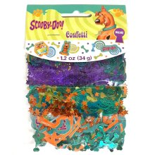 Scooby Doo Party Confetti 3 Pack - Party Birthday Decorations