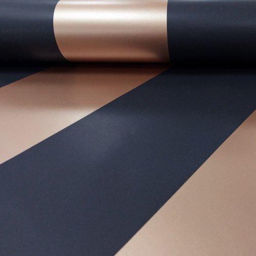 Holden Decor Shimmering Metallic Stripe Pattern 50071 Wallpaper